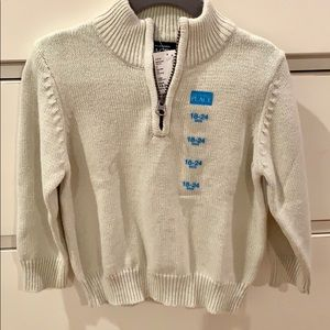 Children's Place Knit 1/4 Zip Sweater NWT